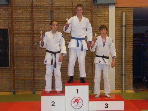 judo 59. 1e Jarice - 2e Micheell - 3e Wesse